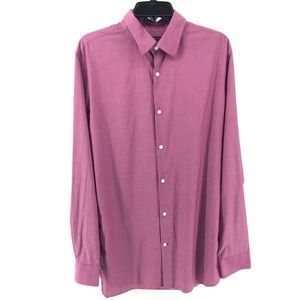 🌿 Pink Banana Republic Slim Fit Button Up Size L